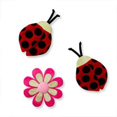 "Li'l Kids - ""L is for Ladybug"" 3-Piece Wall Hanging"