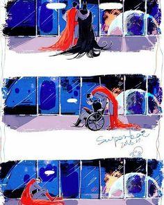 Sweet Pic 💜Superman Batman Dcmen B Batman - Qoster Superman X Batman, Marvel Dc Comics, Marvel Avengers, Couples Comics, Superbat, Dc Memes, Bat Family, Manga Comics, Anime