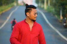 #bun @hair_style #medium_hair Bun Hair, Medium Hair Styles, Athletic, Zip, Mens Tops, T Shirt, Jackets, Fashion, Supreme T Shirt