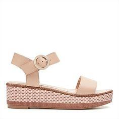 555b771767e9 DUNE BLACK Kassie elasticated wedge sandals