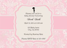 handcrafted baby shower invitations | designed beautifully
