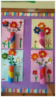 Kids Crafts, Spring Crafts For Kids, Summer Crafts, Toddler Crafts, Easter Crafts, Diy For Kids, Arts And Crafts, Easter Decor, Kids Fun