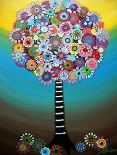 Tree Of Life Painting - Tree Of Life Fine Art Print