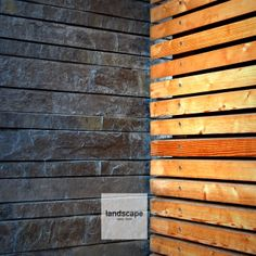 Stone and wood facade. / design: Landscape d.o.o. / www.landscape.si / fb landscape slovenia /