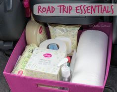 Trip Packing Tips and Road Trip Essentials List Road Trips Essentials - What to Pack for a Roadtrip Road Trip Snacks, Road Trip Packing, Road Trip Essentials, Packing Tips, Travel Packing, Travel Tips, Travel Snacks, Road Trip Checklist, Europe Packing