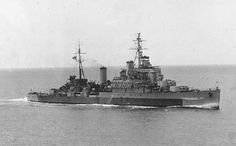 HMS Newfoundland (59) in camouflage, was a Crown Colony-class light cruiser of the British Royal Navy. Named after the Dominion of Newfoundland, she fought in the Second World War and was later sold to the Peruvian Navy.