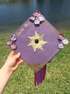 Tangled Graduation Cap