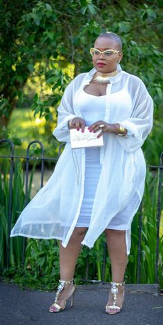 Look Plus Size, Plus Size Women, Curvy Girl Fashion, Plus Size Fashion, Plus Size Kleidung, Little White Dresses, African Fashion, Plus Size Outfits, Tops