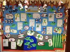 Our Billy Goats Gruff display!