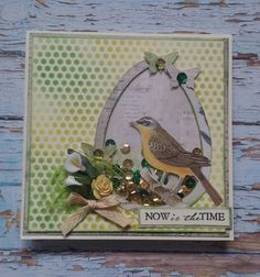 My Shaker Easter Card...  My journey through the Scrapbookworld...: *Easter*