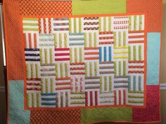 I make a lot of quilts and I give most of them away.  Two quilts went to their forever homes last week.   My aunt is having surgery and I h...