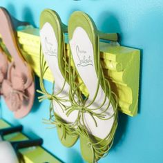 Home-Dzine - A place to hang your shoes!