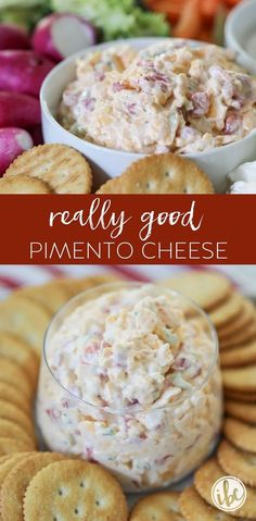 Yummy Appetizers, Appetizers For Party, Appetizer Recipes, Dip Recipes For Parties, Tasty Snacks, Party Dips, Appetizer Ideas, Pimento Cheese Dips