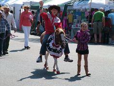 Western Welcome Week - Kids dressed up as Cowboys