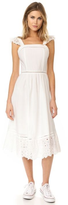 The perfect little white dress for the Summer.