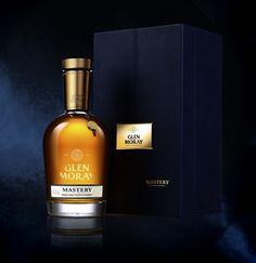 Whisky Glen Moray - Elgin Prestige - Mastery. Packaging designed by #lineaDesigners