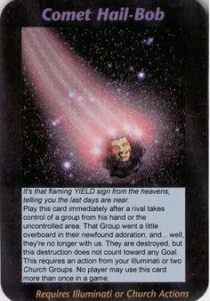 Illuminati Card Game only Publish in 1995