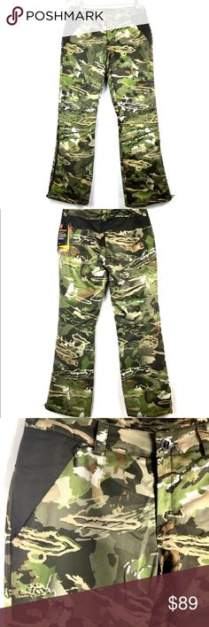 c33344037fcf8 Under Armour Cold Gear Camo Pants Womens Sz 4 Under Armour Cold Gear Camo  Extreme Hunting