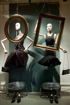 Lanvin ''Hall of Mirrors'' Paris Windows decoration- quel magnificence!