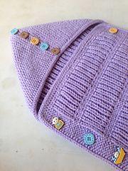Ravelry: Fisherman's Baby Envelope pattern by Amal Saleh