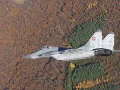 Mig -29 Fulcrum Slovak Air Force Military Aircraft, Airplane, Planes, Air Force, Army, Jet, Birds, Modern, Fighter Aircraft