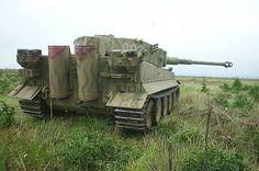 Panzer VI Tiger in colour