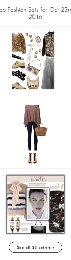 """""""Top Fashion Sets for Oct 23rd, 2016"""" by polyvore ❤ liked on Polyvore featuring Proenza Schouler, Burberry, Fendi, PBteen, Miss Selfridge, Bobbi Brown Cosmetics, Essie, STELLA McCARTNEY, Lancôme and polyvorecommunity"""