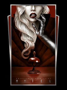 American Horror Story: Hotel - Lady Gaga screen screen print Limited edition of 50 signed and numbered by the artistCommissioned by Century Fox for AHS: Hotel at SDCCPrinted by VG KidsNote: International shipping is available. Please inquire about a quote Horror Icons, Horror Movie Posters, Horror Movies, American Horror Story Hotel, Ahs Hotel Lady Gaga, Netflix, Story Drawing, Films Cinema, Ghost Adventures