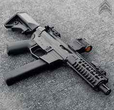 9mm AR Pistol with mini RDS