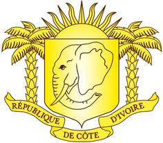 Côte d'Ivoire West African Countries, Crests, National Symbols, Ivoire, National Animal, Elephant Head, Ivory Coast, African Fashion, African Style