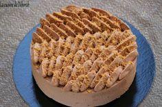 Entremets caramel-chocolat, insert crémeux au caramel beurre salé - Cuisine de Déborah