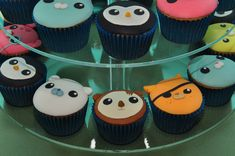 Octonauts cakes, birthday idea...Jude would just die!