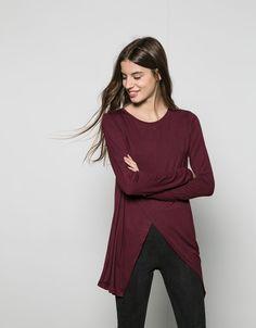 Lisas - Camisetas - BERSHKA - Chica - Bershka Mexico