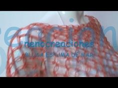 PARTE 2 COMO TEJER BLUSA ESPUMA DE MAR, NUDO SALOMON GANCHILLO CROCHET - YouTube