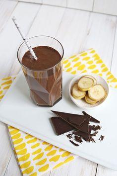 Healthy Chocolate Banana Shake