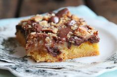 Girl Scout Cookie Tagalong Cake Bars | 30 Girl Scout Cookie recipes | Deseret News