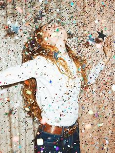 glitter confetti party