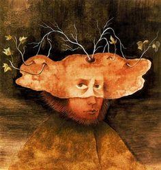 El labrador. Remedios Varo  Art Experience NYC  www.artexperiencenyc.com
