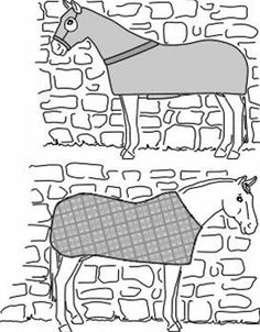 sewing patterns for horse blankets