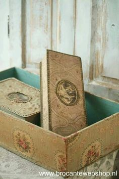 Pretty old boxes