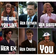 Lol #rachelgreen #rossgeller @friends_die_hards