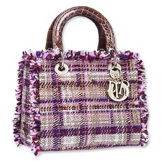 Oooh love this Lady Dior Tweed Tote ... So retro yet modern .. perfect for this coming autumn xx
