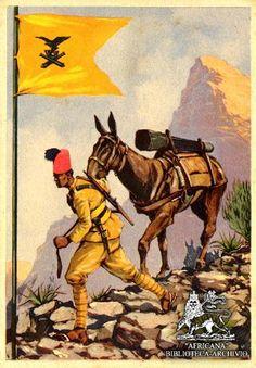 Mountain Artillery | Flickr - Photo Sharing! Italian Empire, Italian Army, Spanish King, Leoni, Oriental, Italian Posters, National History, North Africa, Military History