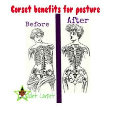 Corset benefits for posture