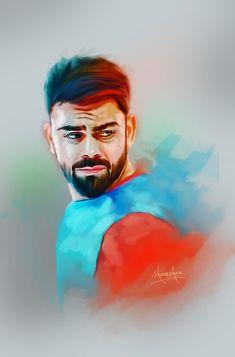 Portrait Art, Portrait Photography, Cricket Poster, Indian Army Wallpapers, Joker Iphone Wallpaper, Ms Dhoni Wallpapers, Virat Kohli Wallpapers, Cricket Wallpapers, Hacker Wallpaper