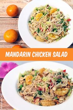 Mandarin Chicken Sal