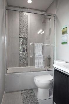 Bathroom   Tiny Bathroom   Pinterest   White tiles, Shelves and Tiny ...