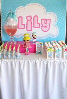 Lalaloopsy Doll Girl Button Sewing Birthday Party Planning Ideas