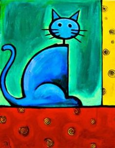 Cat Art | Cats by Patricia