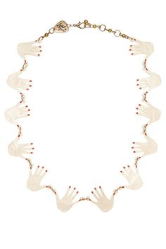 Seance Hands Link Necklace, £95: http://www.tattydevine.com/shop/collections/aw14/seance-hands-link-necklace.html